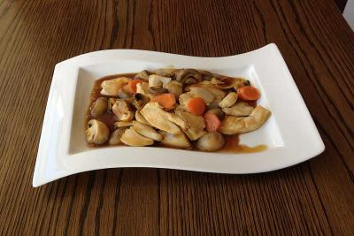 Chicken with Mushroom