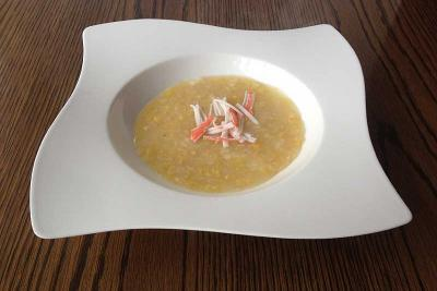 Crabmeat and Sweetcorn Soup