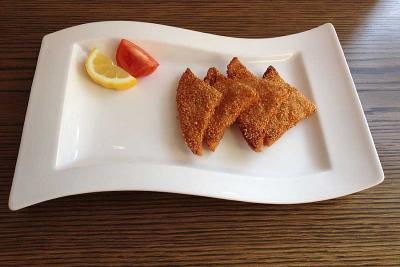 Sesame King Prawn Toast