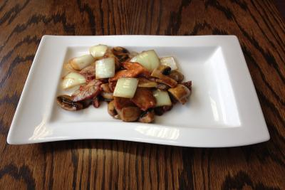 Roast Pork with Mushrooms