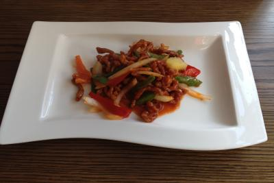 Crispy Beef in Chilli Sauce