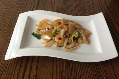 King Prawn with Ginger & Spring Onion
