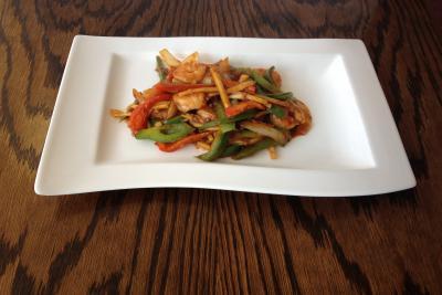 King Prawn with Vegetables & Szechuan Sauce