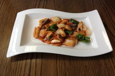 Mixed Vegetables in our Chef's Special Cantonese Sauce