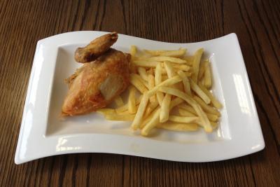 Roast Chicken & Chips