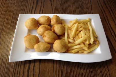 Chicken Balls & Chips